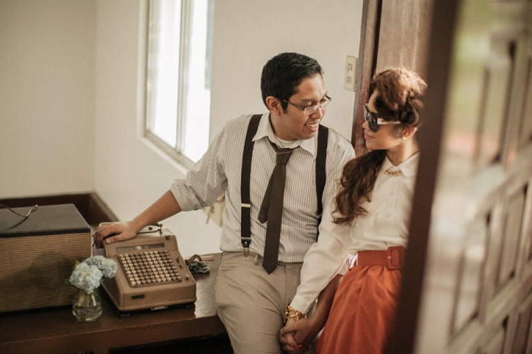cuckoo cloud concepts harry and gizelle mad men-inspired engagement session cebu wedding stylist cebu weddings cebu engagement session vintage-inspired time travel cebu stylist cebu engagement session set design 16