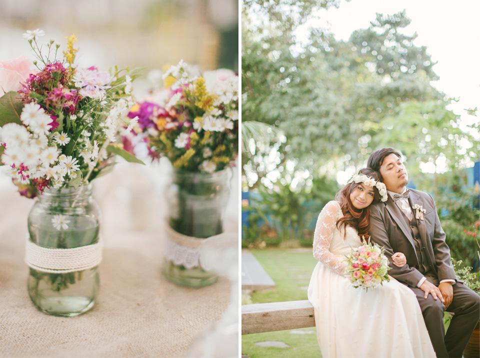 marlon and mildred bohemian wedding cebu weddings cebu wedding stylist cebu bohemian weddings garden wedding 15
