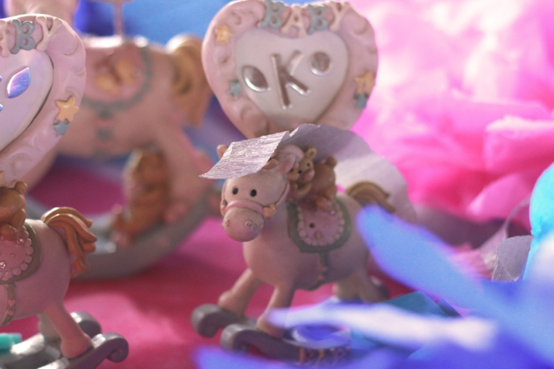 cuckoo cloud concepts kiddie party carousel party pink and blue 01 (3)