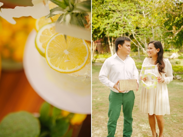 cuckoo cloud concepts evahn and giselle anniversary shoot cebu wedding stylist yellow green 12