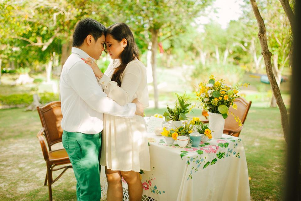 cuckoo cloud concepts evahn and giselle anniversary shoot cebu wedding stylist yellow green 20