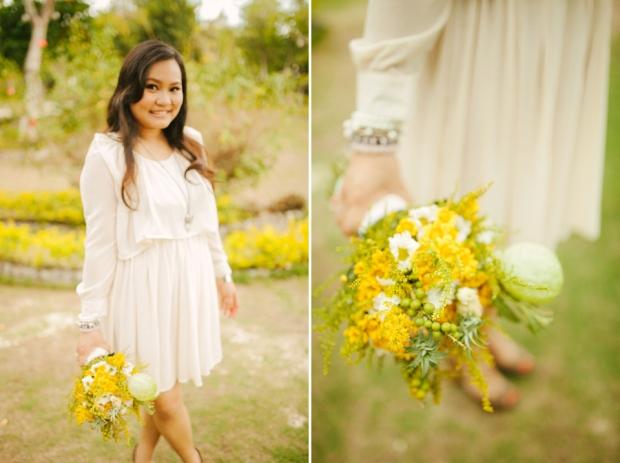 cuckoo cloud concepts evahn and giselle anniversary shoot cebu wedding stylist yellow green 17