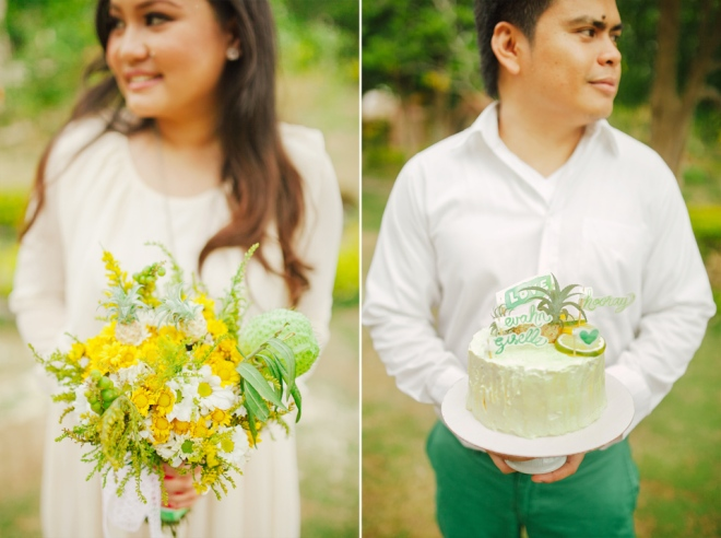 cuckoo cloud concepts evahn and giselle anniversary shoot cebu wedding stylist yellow green 18