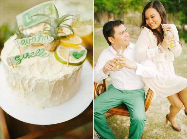 cuckoo cloud concepts evahn and giselle anniversary shoot cebu wedding stylist yellow green 16