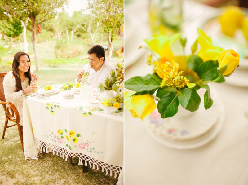 cuckoo cloud concepts evahn and giselle anniversary shoot cebu wedding stylist yellow green 08