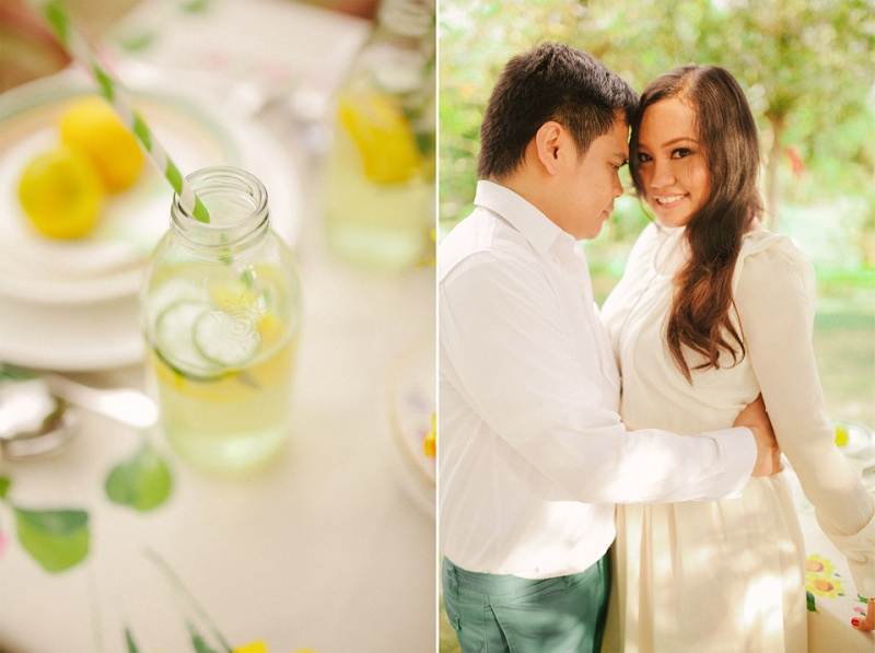 cuckoo cloud concepts evahn and giselle anniversary shoot cebu wedding stylist yellow green 02