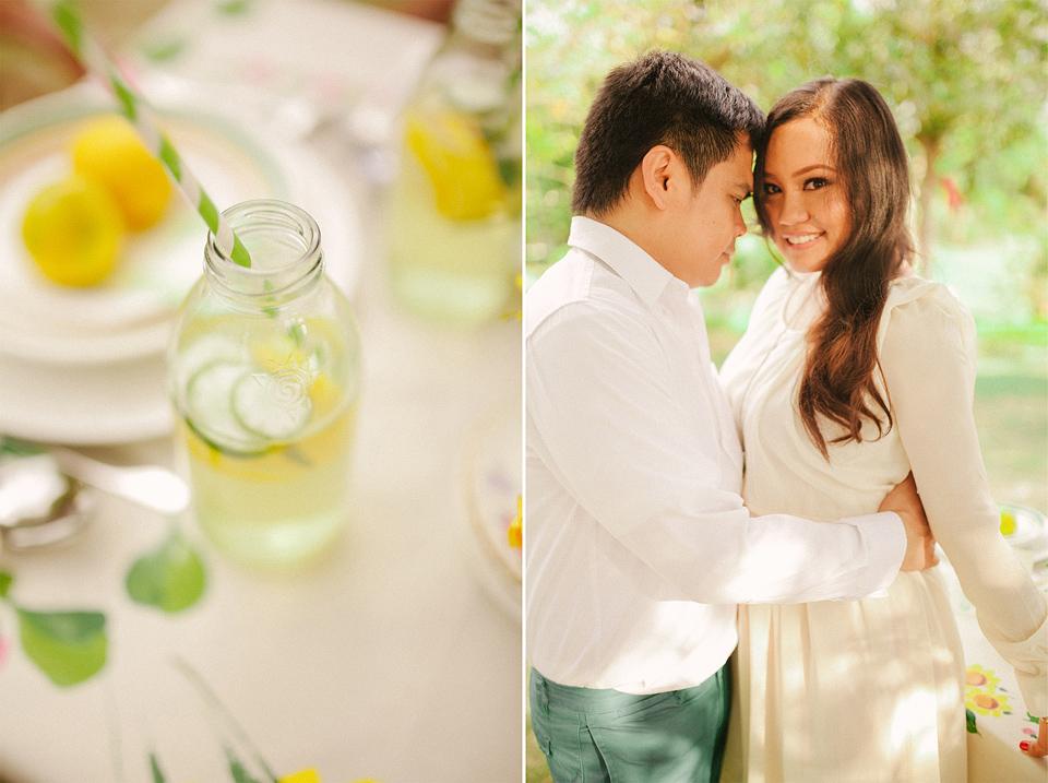 cuckoo cloud concepts evahn and giselle anniversary shoot cebu wedding stylist yellow green 02