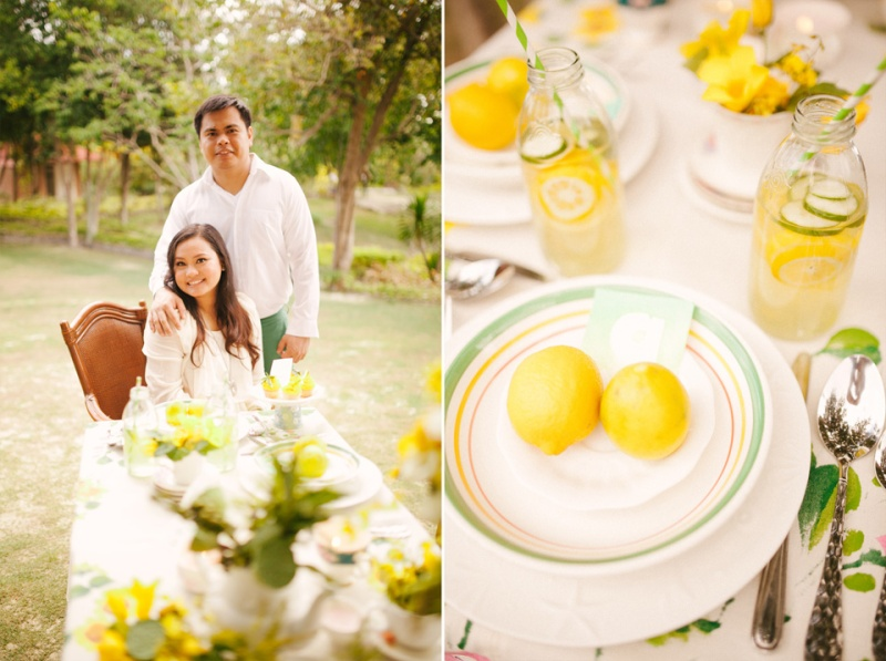 cuckoo cloud concepts evahn and giselle anniversary shoot cebu wedding stylist yellow green 15