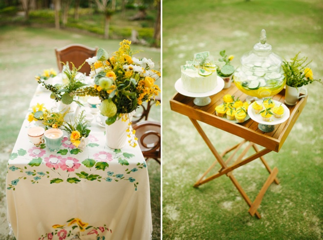cuckoo cloud concepts evahn and giselle anniversary shoot cebu wedding stylist yellow green 19