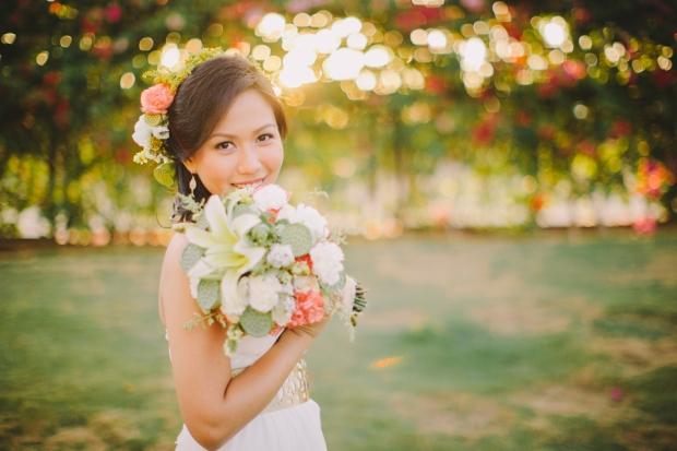 cuckoo cloud concepts shea and cheeky rustic chic cebu wedding stylist beach wedding peach and green 15