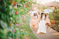 cuckoo cloud concepts shea and cheeky rustic chic cebu wedding stylist beach wedding peach and green 14