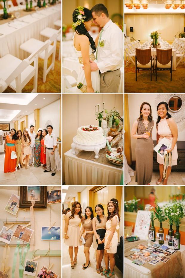 cuckoo cloud concepts shea and cheeky rustic chic cebu wedding stylist beach wedding peach and green 27