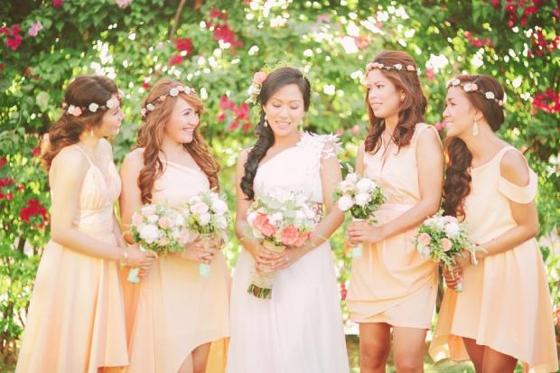 cuckoo cloud concepts shea and cheeky rustic chic cebu wedding stylist beach wedding peach and green 13