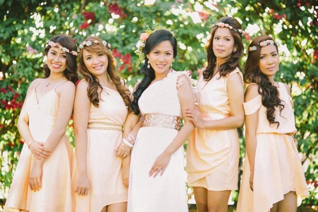 cuckoo cloud concepts shea and cheeky rustic chic cebu wedding stylist beach wedding peach and green 29