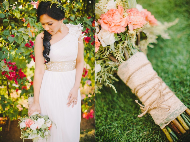 cuckoo cloud concepts shea and cheeky rustic chic cebu wedding stylist beach wedding peach and green 09