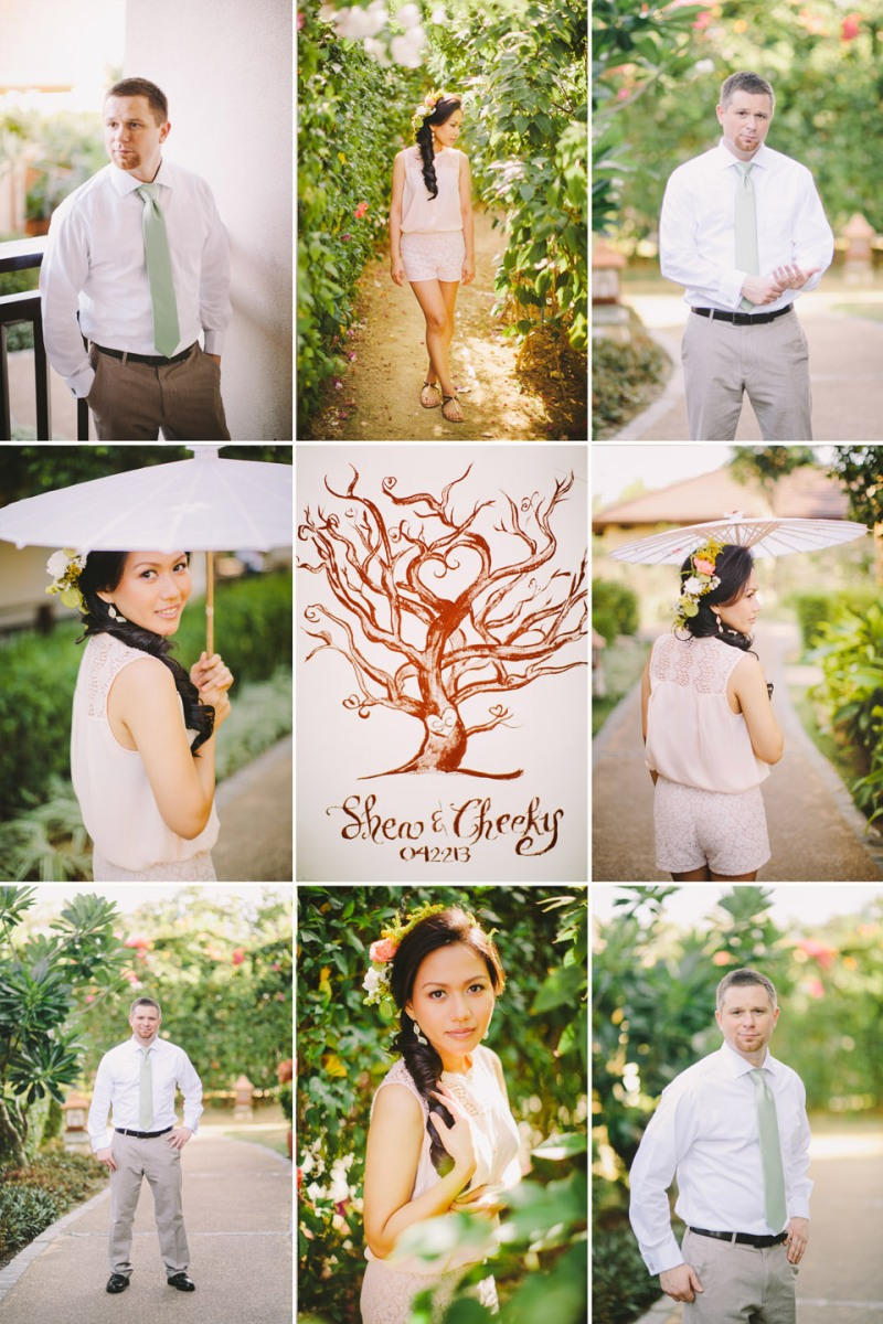 cuckoo cloud concepts shea and cheeky rustic chic cebu wedding stylist beach wedding peach and green 16