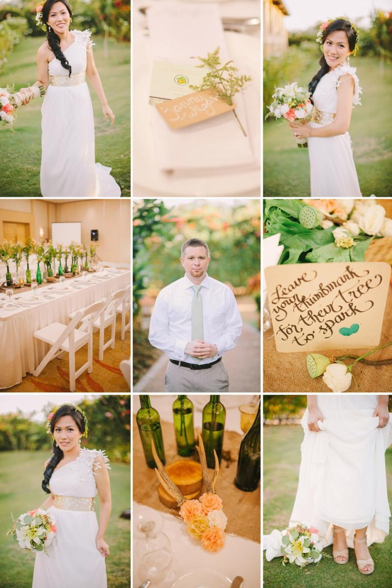 cuckoo cloud concepts shea and cheeky rustic chic cebu wedding stylist beach wedding peach and green 06
