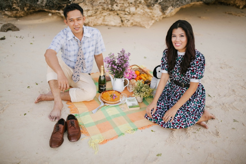 cuckoo cloud concepts ronald and katherine engagement session cebu wedding stylist photo shoot stylist nautical vintage beach picnic 19