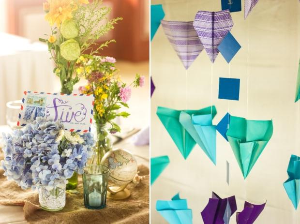cuckoo cloud concepts paul and lyris cebu wedding stylist travel themed wedding turquoise and purple 10