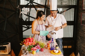 cuckoo cloud concepts drazen and majie engagement session cebu wedding stylist kitchen baking prenup the chillage 02