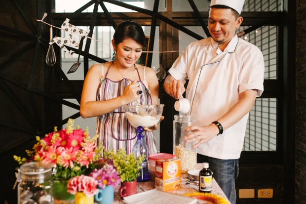 cuckoo cloud concepts drazen and majie engagement session cebu wedding stylist kitchen baking prenup the chillage 05