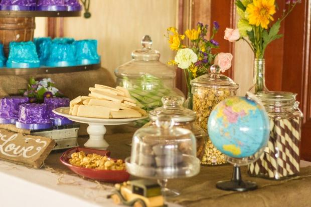 cuckoo cloud concepts paul and lyris cebu wedding stylist travel themed wedding turquoise and purple 18