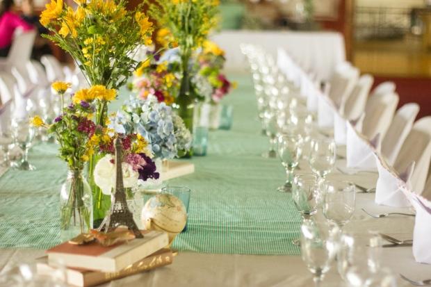 cuckoo cloud concepts paul and lyris cebu wedding stylist travel themed wedding turquoise and purple 13