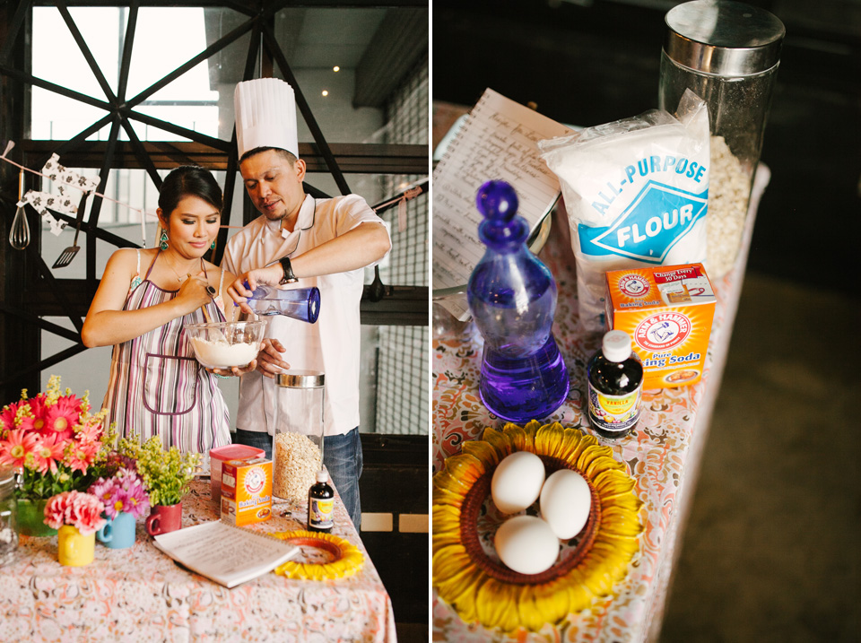 cuckoo cloud concepts drazen and majie engagement session cebu wedding stylist kitchen baking prenup the chillage 15