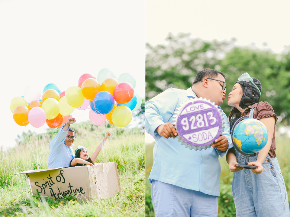 Cuckoo Cloud Concepts Pierre And Ivy Engagement Session Up Themed