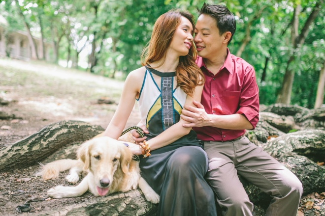 cuckoo cloud concepts mark and franz yellow golden retriever dog lovers engagement session cebu wedding stylist wardrobe styling 08