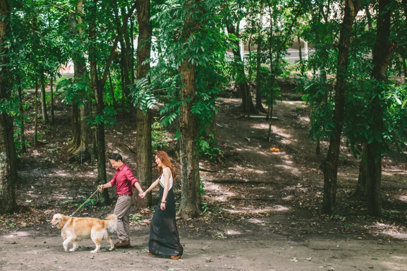 cuckoo cloud concepts mark and franz yellow golden retriever dog lovers engagement session cebu wedding stylist wardrobe styling 16