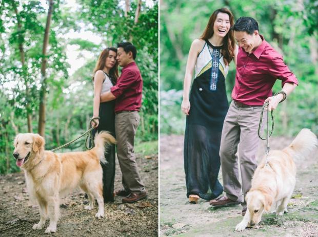 cuckoo cloud concepts mark and franz yellow golden retriever dog lovers engagement session cebu wedding stylist wardrobe styling 02