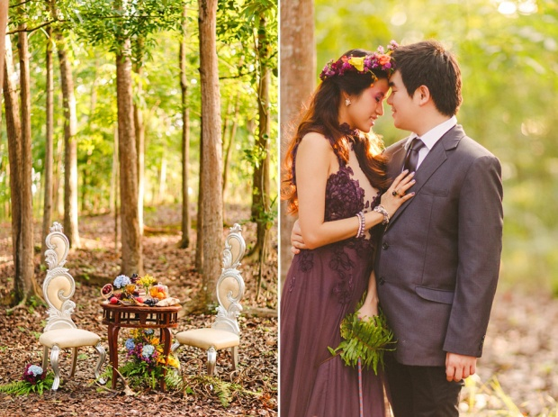 cuckoo cloud concepts andrew and iris engagement session enchanted forest whimsical woodland prenup cebu wedding stylist 12