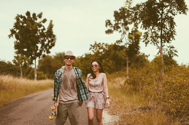 cuckoo cloud concepts junn and loura road trip hip laidback engagement session cebu wedding stylist_11