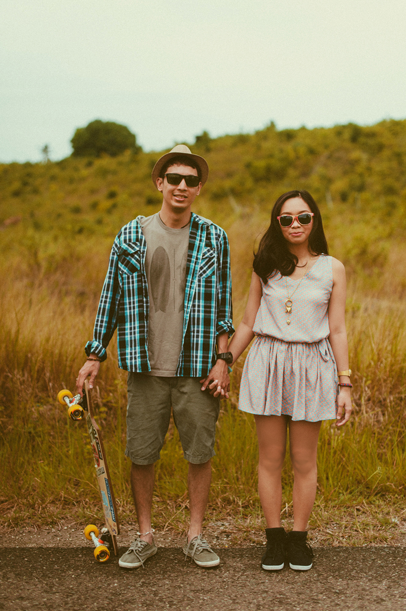 cuckoo cloud concepts junn and loura road trip hip laidback engagement session cebu wedding stylist_31