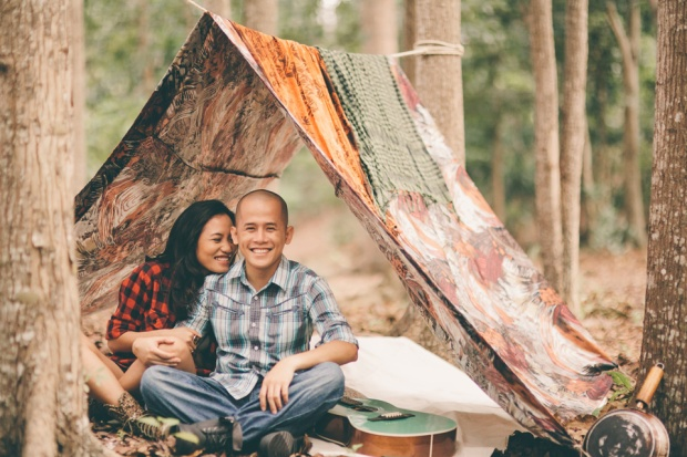 cuckoo cloud concepts james and liane engagement session camping americana-inspired outdoors plaid cebu wedding stylist 09