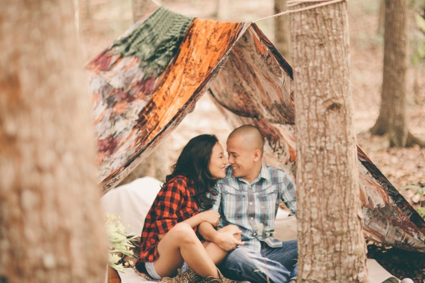 cuckoo cloud concepts james and liane engagement session camping americana-inspired outdoors plaid cebu wedding stylist 07