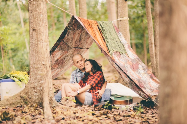 cuckoo cloud concepts james and liane engagement session camping americana-inspired outdoors plaid cebu wedding stylist 14
