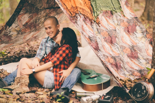cuckoo cloud concepts james and liane engagement session camping americana-inspired outdoors plaid cebu wedding stylist 13