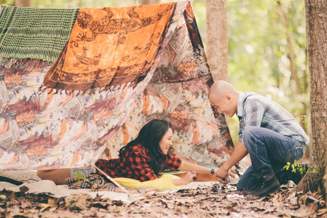 cuckoo cloud concepts james and liane engagement session camping americana-inspired outdoors plaid cebu wedding stylist 22