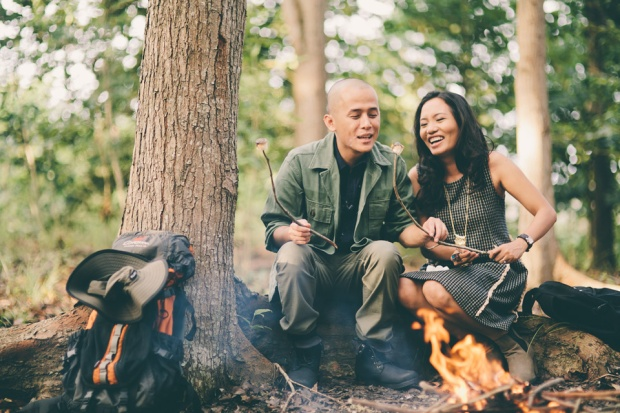 cuckoo cloud concepts james and liane engagement session camping americana-inspired outdoors plaid cebu wedding stylist 43