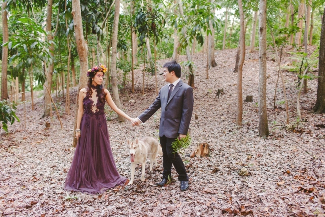 cuckoo cloud concepts andrew and iris engagement session enchanted forest whimsical woodland prenup cebu wedding stylist 10