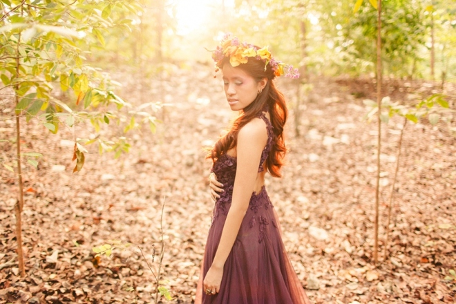 cuckoo cloud concepts andrew and iris engagement session enchanted forest whimsical woodland prenup cebu wedding stylist 14
