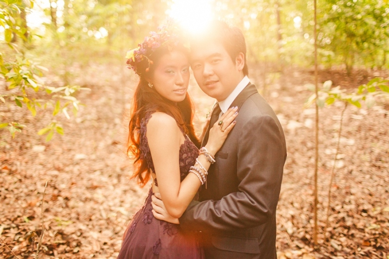 cuckoo cloud concepts andrew and iris engagement session enchanted forest whimsical woodland prenup cebu wedding stylist 25