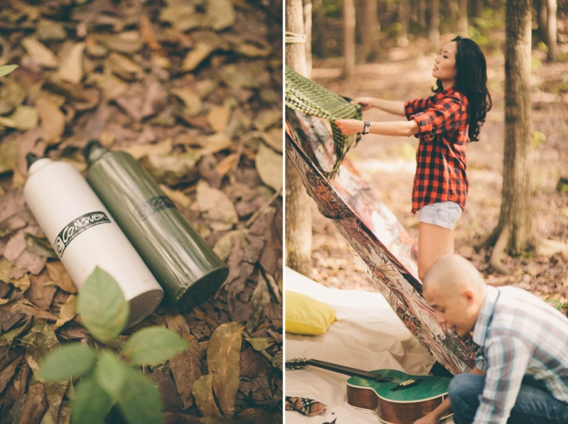 cuckoo cloud concepts james and liane engagement session camping americana-inspired outdoors plaid cebu wedding stylist 05