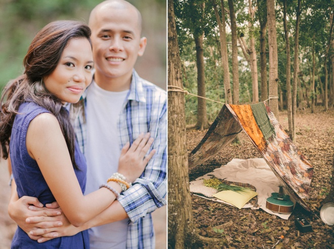 cuckoo cloud concepts james and liane engagement session camping americana-inspired outdoors plaid cebu wedding stylist 49