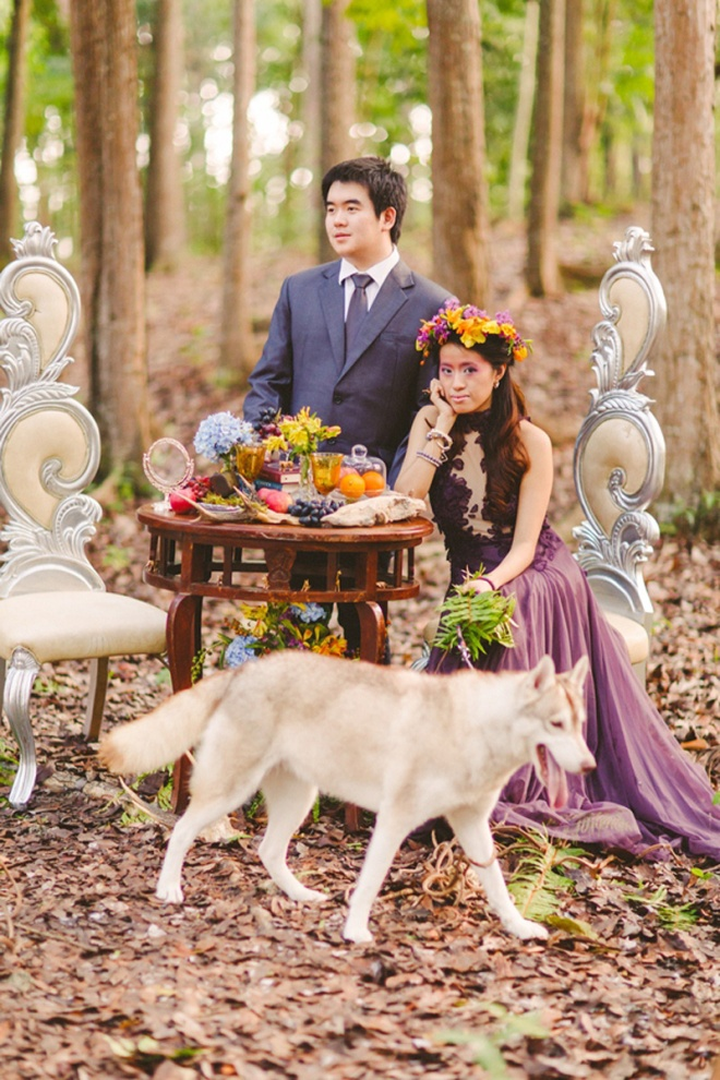 cuckoo cloud concepts andrew and iris engagement session enchanted forest whimsical woodland prenup cebu wedding stylist 24