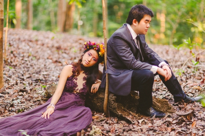 cuckoo cloud concepts andrew and iris engagement session enchanted forest whimsical woodland prenup cebu wedding stylist 30