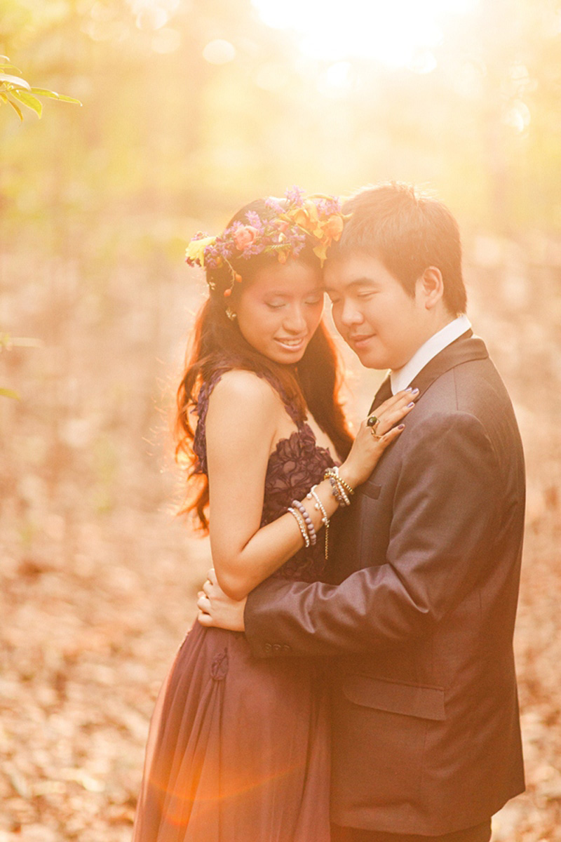 cuckoo cloud concepts andrew and iris engagement session enchanted forest whimsical woodland prenup cebu wedding stylist 20