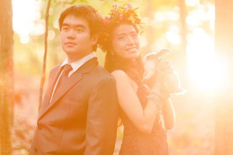 cuckoo cloud concepts andrew and iris engagement session enchanted forest whimsical woodland prenup cebu wedding stylist 31
